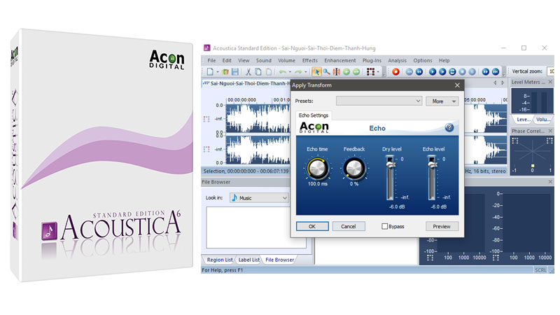 Acoustica Standard Edition 6