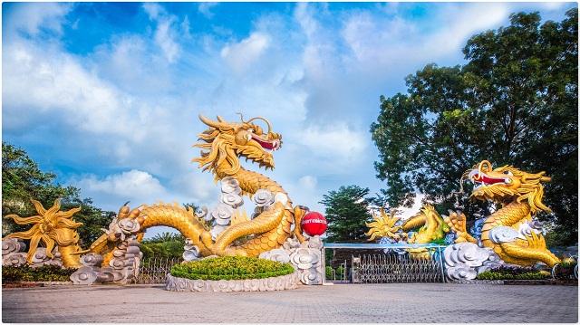 Khu du lịch Bửu Long với nhiều trò chơi giải trí thú vị