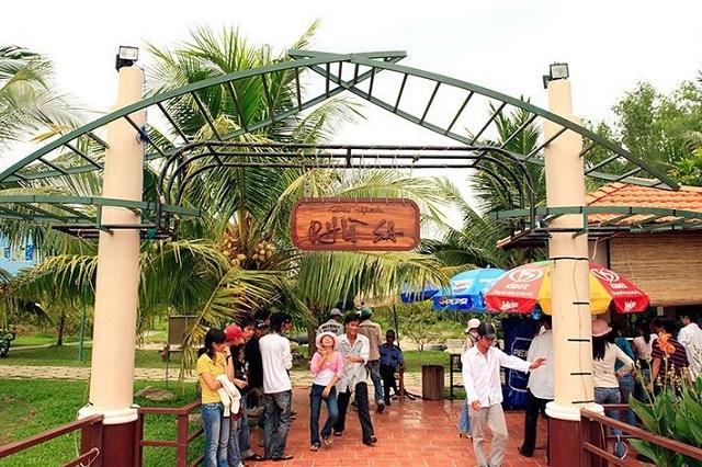 Khu du lịch Phù Xa là một trong số khu du lịch nổi tiếng của Cần Thơ