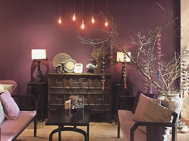 Cà phê Lissom Parlour là quán có không gian đẹp cho những bạn thích sống ảo