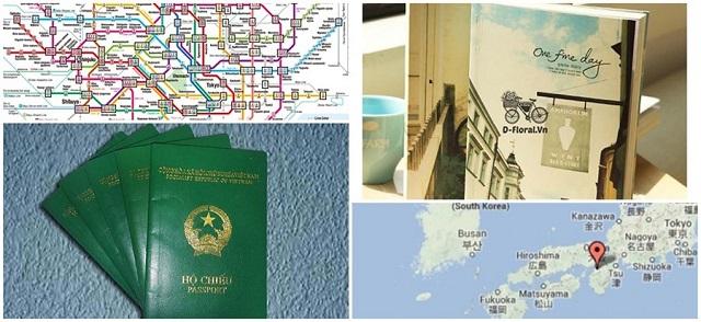 Chuẩn bị hộ chiếu, bản đồ, từ điển để bạn tham gia chuyến du lịch Nhật Bản được thuận lợi