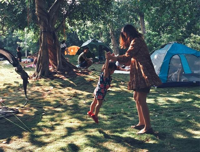Khu đô thị Ecopark là nơi có nhiều hoạt động vui chơi giải trí