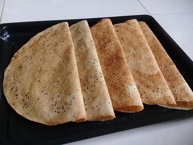 Bánh tráng Mỹ Lồng với hương vị thơm ngon chiều lòng khách du lịch