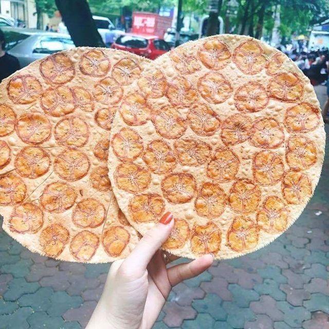 Món bánh tráng chuối thơm ngon và ngọt ngào