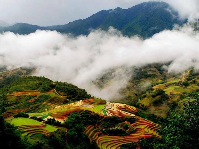 Sapa là nơi du lịch của nhiều người đặc biệt đây được xem như là thiên đường của tình yêu