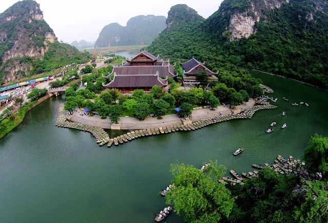 Được UNESCO công nhận Bãi Đính Tràng An và Tam Cốc đã hình thành miền di sản kép