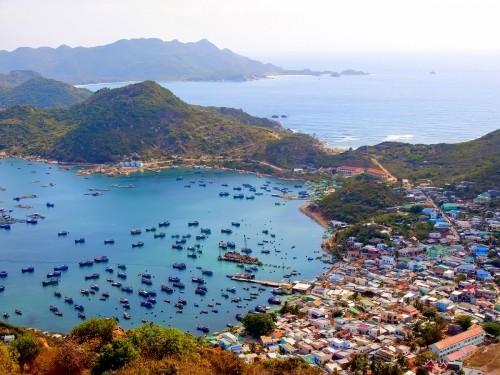 Đảo Bình Ba sở hữu nhiều di tích chiến tranh từ trước năm 1975