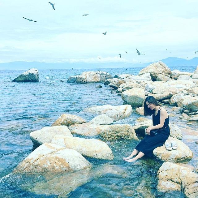 """Đảo Yến có nhiều không gian xinh đẹp để các bạn """"sống ảo"""""""