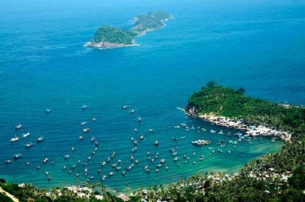 Đảo Nam Du với không gian thiên nhiên hoang sơ