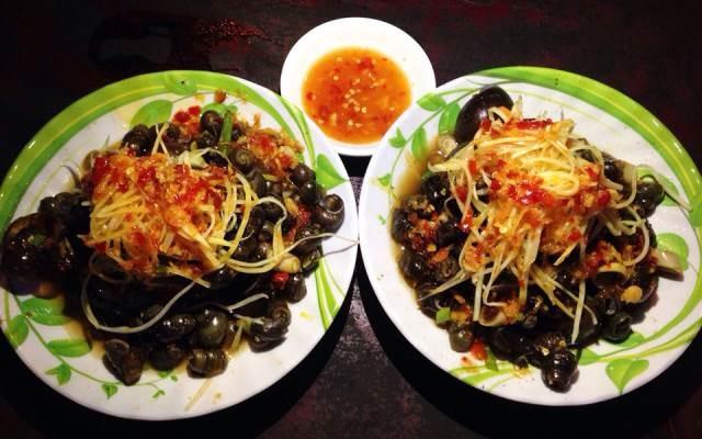 Ốc hút là món ăn được chế biền từ nhiều loại ốc khác nhau