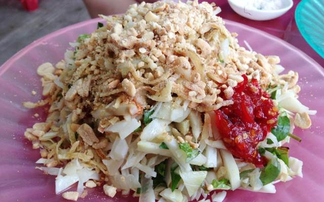 Mít trộn là món ăn vặt quen thuộc của người dân Đà Nẵng