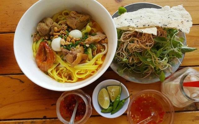 Mì Quảng là món ăn đặc sản nổi tiếng ở Đà Nẵng