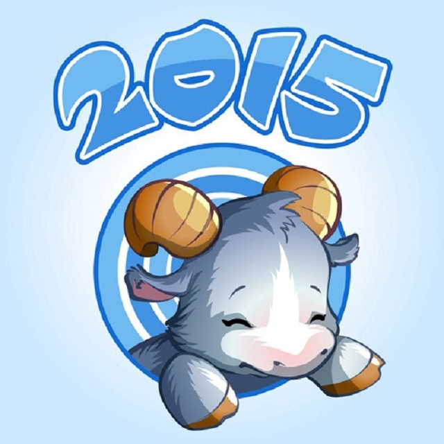 Năm 2015 là năm con Dê, con Dê là con giáp thứ 8 trong 12 con giáp