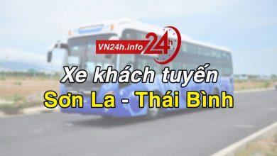 Photo of Xe khách tuyến Sơn La – Thái Bình