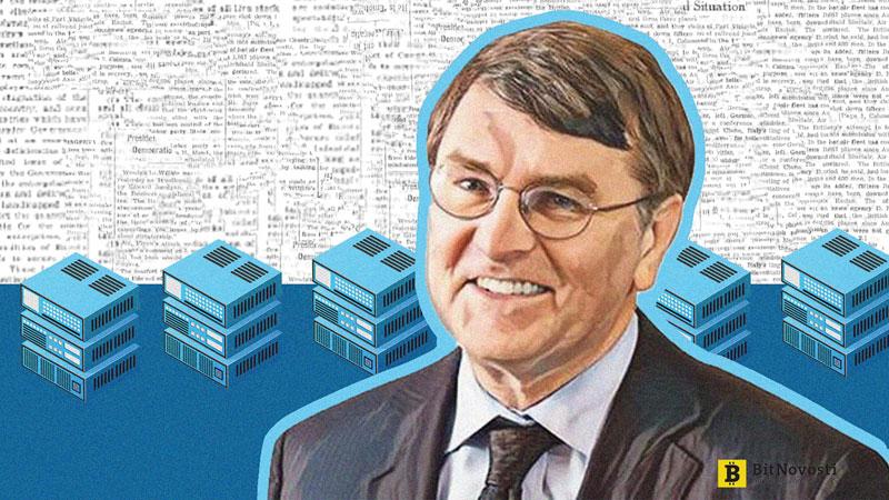 Scott Stornetta, một trong số những cha đẻ của blockchain.