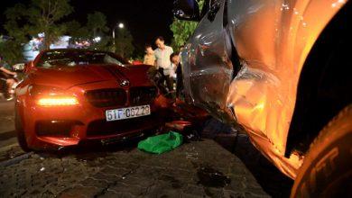 Photo of BMW gây tai nạn liên hoàn ở Sài Gòn