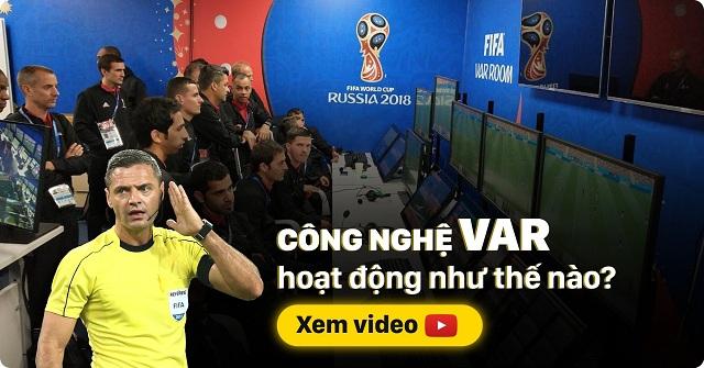 Công nghệ VAR là công nghệ được dùng để hỗ trợ trọng tài xử lý tình huống trong trận đấu