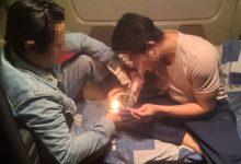 Photo of Video: Hãi hùng tài xế xe container mở 'tiệc lẩu ma túy' trên cabin