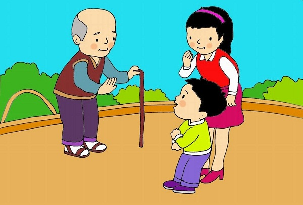Khi giao tiếp với người lớn nên dùng từ ngữ thuần Việt, tránh dùng tiếng lóng