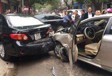 Photo of Nữ tài xế điều khiển ô tô bất ngờ gây tai nạn liên hoàn