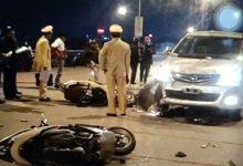Photo of Ô tô lấn làn tông liên tiếp 2 xe máy khiến 4 người nguy kịch