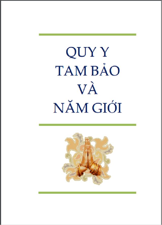 Quy y Tam Bảo là những bước chân khởi đầu khi bước vào Phật Pháp