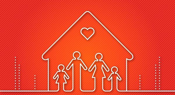 Gia đình là nơi dạy chúng ta những bài học về tình yêu thương đầu đời