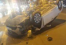Photo of Tài xế nồng nặc mùi cồn lái xế hộp lộn nhào giữa phố