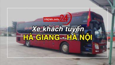 Photo of Xe khách tuyến Hà Giang – Hà Nội (Mỹ Đình, Gia Lâm)