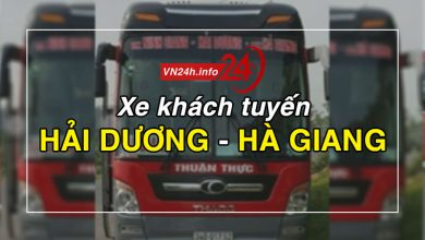 Photo of Xe khách tuyến Hải Dương – Hà Giang