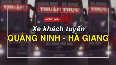 Photo of Xe khách tuyến Quảng Ninh – Hà Giang