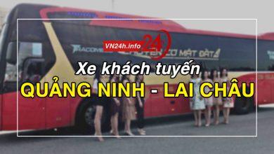 Photo of Xe khách tuyến Quảng Ninh – Lai Châu