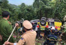 Photo of Xe khách rơi xuống vực trên đèo Hải Vân khiến hơn 20 người thương vong