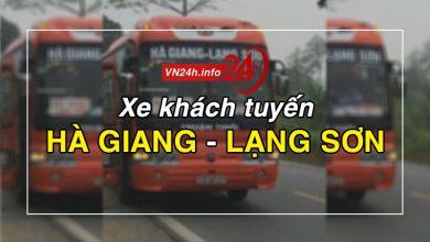 Photo of Xe khách tuyến Hà Giang – Lạng Sơn