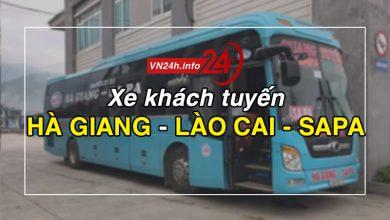Photo of Xe khách tuyến Hà Giang – Lào Cai – Sapa