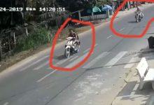 Photo of [VIDEO] Chạy CSGT 2 cô gái đi xe máy tông sập nhà dân, thương vong