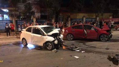 Photo of Hai ô tô đấu đầu kinh hoàng khiến 4 người thương vong