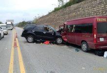 Photo of Xe khách va chạm xe 7 chỗ trên cao tốc Nội Bài – Lào Cai khiến 9 người bị thương