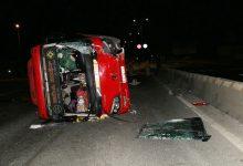 Photo of Xe khách lật trên quốc lộ, 30 người về quê ăn Tết phải nhập viện
