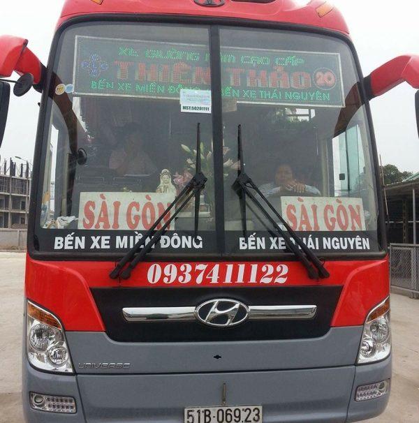 Nhà xe Thiên Thảo (Sài Gòn - Thái Nguyên)