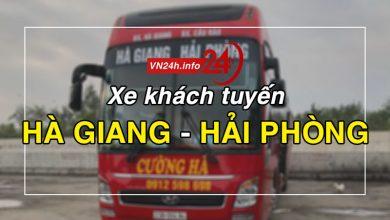 Photo of Xe khách tuyến Hà Giang – Hải Phòng