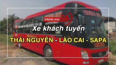Photo of Xe khách tuyến Thái Nguyên – Lào Cai – Sapa