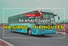 Xe khách tuyến Hà Giang – Thái Nguyên