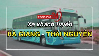 Photo of Xe khách tuyến Hà Giang – Thái Nguyên