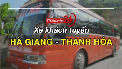 Photo of Xe khách tuyến Hà Giang – Thanh Hóa