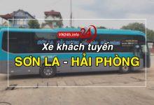 Photo of Xe khách tuyến Sơn La – Hải Phòng (Cát Bà, Cát Hải)
