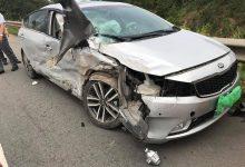 Photo of Xe Lexus lấn làn, đâm bẹp dúm xe Kia trên cao tốc Nội Bài – Lào Cai