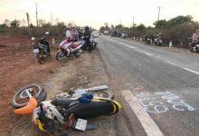 Photo of Xe máy đấu đầu ô tô, cả gia đình 3 người tử vong tại chỗ