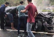Photo of VIDEO: Siêu xe Mercedes gây tai nạn kinh hoàng trên cao tốc Liên Khương