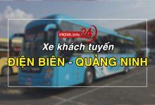 Xe khách tuyến Điện Biên - Quảng Ninh